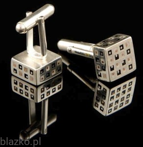 Cufflinks - Small Cubes