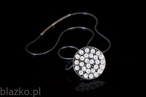Classic Dotted Coin Necklace