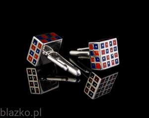 Cubes Cufflinks - Colour
