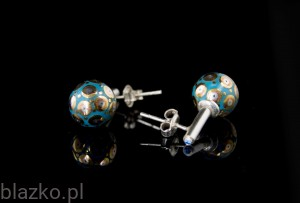 Porcelains Pellets Earrings  (1)