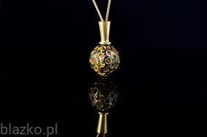 Gold-Plated Sundew Pendant