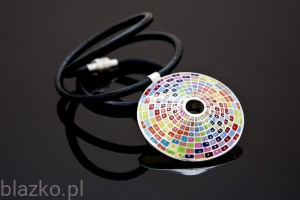 Colour Obol Pendant