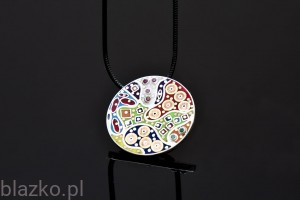 Dolce Vita Colour Coin Pendant