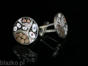 Dolce Vita Classic Rounded Cufflinks