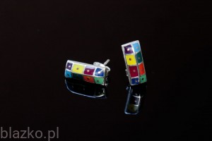 Stakes Earrings - Colour