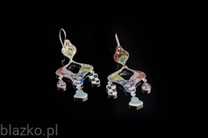 Dolce Vita Tears Earrings - Colour