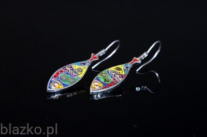 Dolce Vita Colour Fishy Earrings