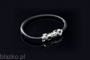 Chessboard Classic Cubes Leather Bracelet
