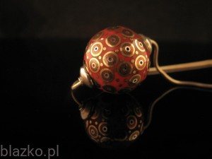 Colour Porcelains Ball 16' Pendant