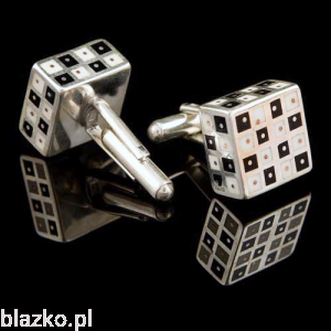 Cufflinks - Chess Cubes