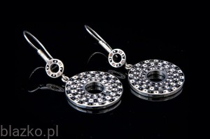 Classic Small Wheels Earrings