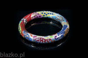 Dolce Vita Thin Bangle - Colour - 58mm diameter