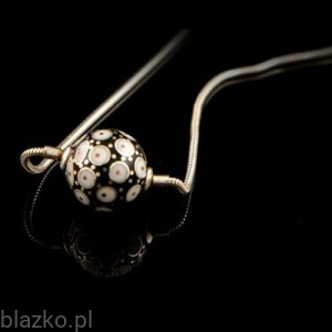 Dotted Ball Pendant 16'